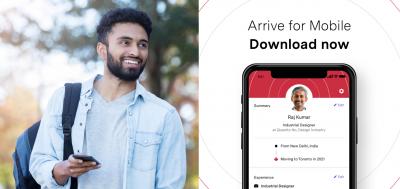Arrive Mobile App Banner 1