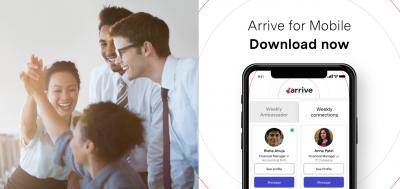 Arrive mobile app
