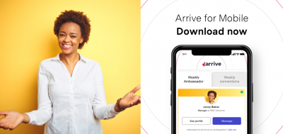 The Arrive mobile app: Connecting newcomers to opportunities