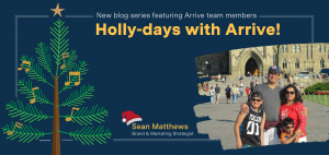 Holiday Stories with Arrive: Sean Mathews