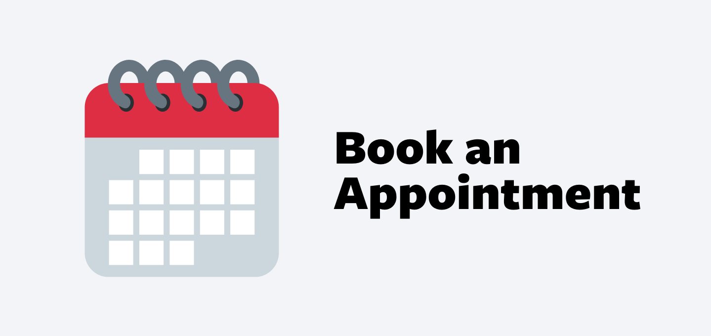 Arrive Book an Appointment