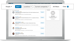 Advanced search filters to find new connections on LinkedIn